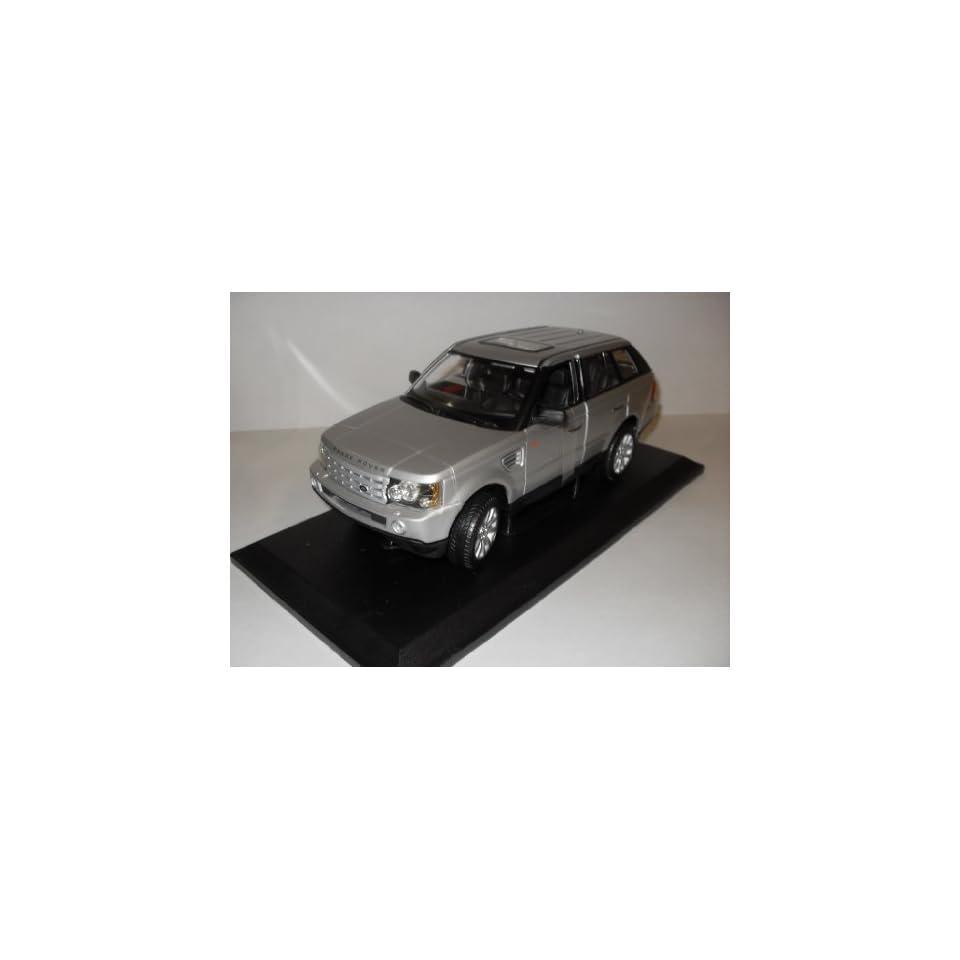 Maisto 118 Scale Silver Range Rover Sport Toys & Games