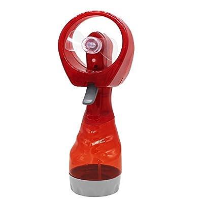 FeiFei66 Mini Hand Held Spray Cooling Fan Portable Hand held Cooling Cool Water Spray Misting Fan Mist Travel Beach