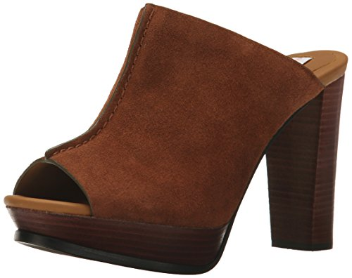 See By Chloe Women's Alex Platform Mule, Brown, 40 EU/10 M US Chloe Calfskin Leather