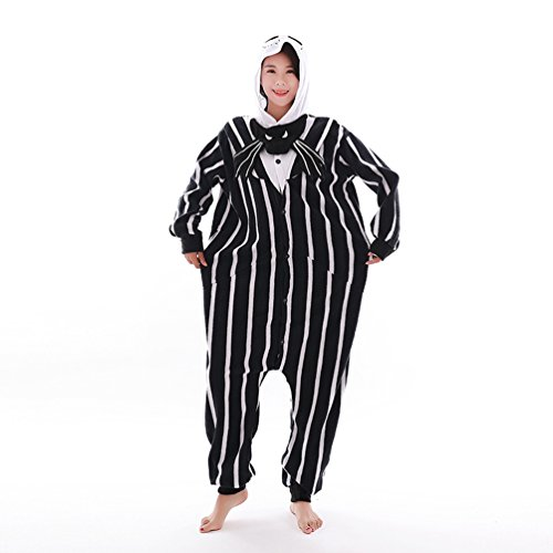 Unisex Adult Animal Pajamas Custome Cosplay for Halloween Christmas (X-Large, Jack) -