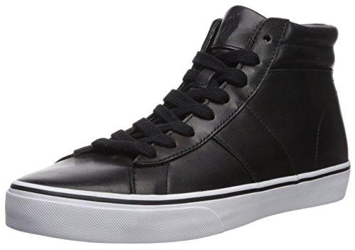 Polo Ralph Lauren Mens Shaw Sneaker Nero