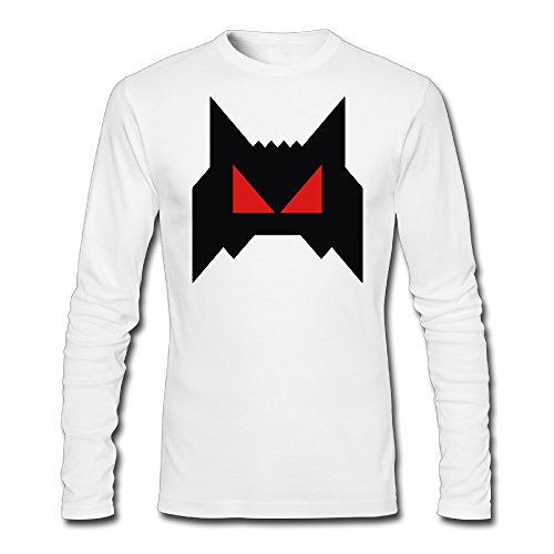 Men's The Weeknd Starboy New Album Mask Halloween Long Sleeve T-shirt Tee (50s Haircuts)