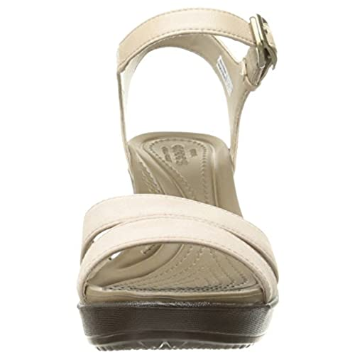 48610d0b894 good Crocs Leigh II Ankle Strap Wedge - promotion-maroc.com
