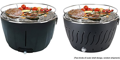 Aobosi Stainless Steel Portable Smokeless Charcoal Barbecue Grill Image