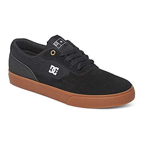 Dc Skateboarden Switch Handtekening Skate Schoen - Heren Zwart / Zwart / Gum