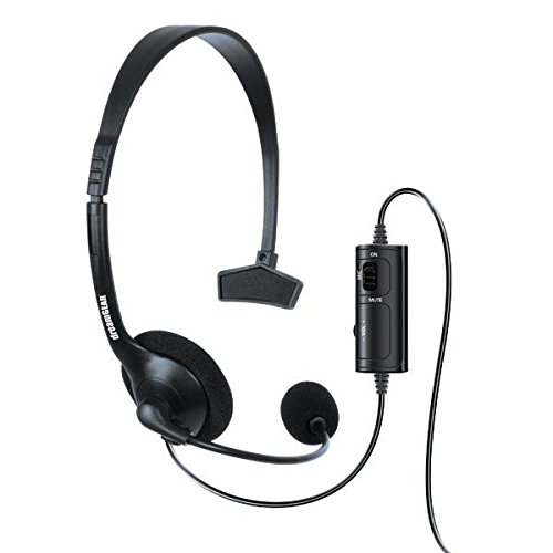 418qePY maL - dreamGEAR Broadcaster Wired Headset for the PS4 with Flexible Boom Microphone and Inline Volume/Mute Control