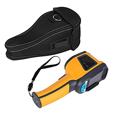 Infrared Thermal Imager Camera,HT-02D Handheld IR Thermal Imaging Camera Color Display 1024p 32x32 Resolution Thermal Imager