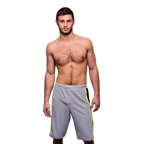 Jocko Daniel Jam Short, grau, Größe: S Größe: S jm-3007-grey-s
