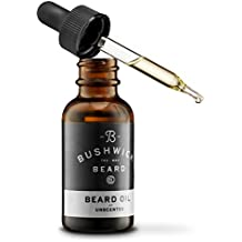Bushwick Beard 100% Natural Unscented Beard Oil Moisturizes, Soothes with Grooms