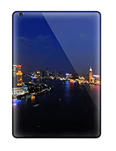 New LmknJay3244wLsAP Shanghai Huangpu River Skin Case Cover Shatterproof Case For Ipad Air by icecream design