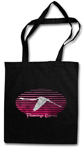 Flamingo Express Hipster Borsa Borsa Shopping Bag Borsa Di Stoffa