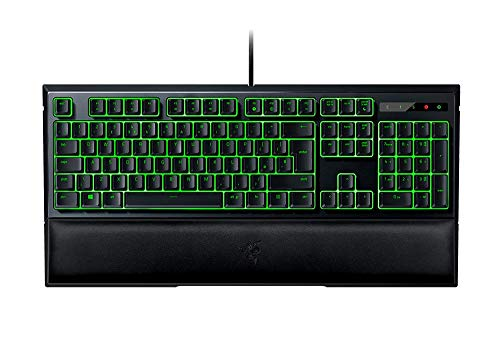 (RAZER ORNATA EXPERT: Mecha-Membrane - Individually Backlit Mid-Height Keys - Leatherette Wrist Rest - Gaming Keyboard - Gaming Keyboard)