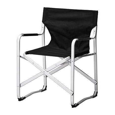 IKEA Kalvo - silla de Director s, negro: Amazon.es: Jardín