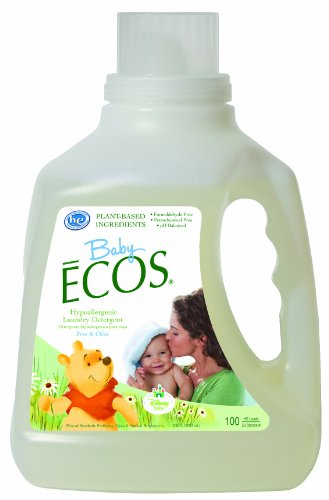 Price comparison product image Earth Friendly Products Baby Ecos Free and Clear Disney Laundry Detergent, 100 Ounce (Pack of 2)
