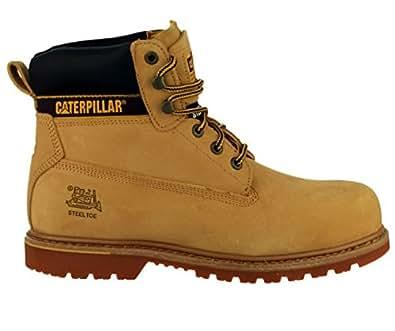 Caterpillar - Calzado de protección para Hombre, Color Marrón, Talla 40 EU