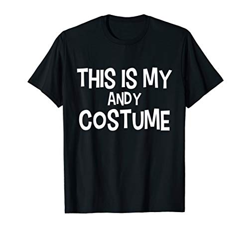 This is my ANDY Costume Halloween Simple Costume ()