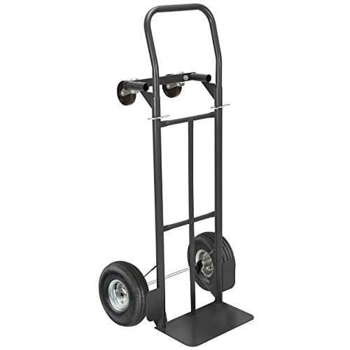 Pack-N-Roll 85-034 2-in-1 Hand Truck Pound, 600 lbs Vertical/800 lbs Horizontal Capacity by Pack-N-Roll