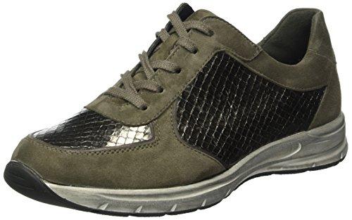 Semler Ulli, Zapatos de Cordones Brogue para Mujer Beige - Beige (867 fango-platin)