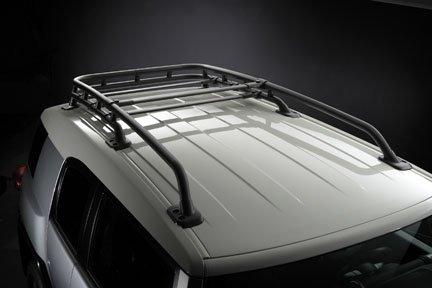 Toyota FJ Cruiser OEM Style Black Roof Rack: Fits 2007, 2008, 2009, 2010, 2011, 2012, 2013 and 2014 FJ Cruiser - Toyota Fj Cruiser Roof Rack