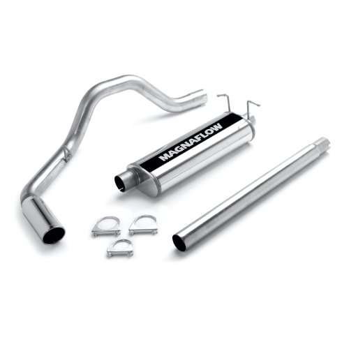 "Magnaflow 15609 Stainless Steel 3"" Single Cat-Back Exhaust System"