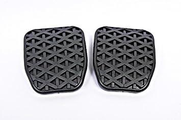 Original de BMW de goma almohadillas para freno embrague pedales Manual Transmisión 35211108634: Amazon.es: Coche y moto