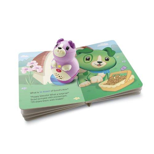 LeapFrog LeapReader Junior Book Pal, Violet (Violet Scout)