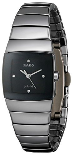 RADO(ラドー) 腕時計 並行輸入品 Rado Women's R13780702 Sinatra Black Dial Watch R13780702 [並行輸入品] B0786VYKF5