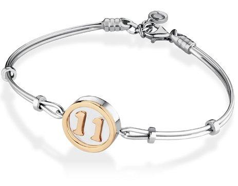 Bracelet en argent 925 Personnalisable numéro