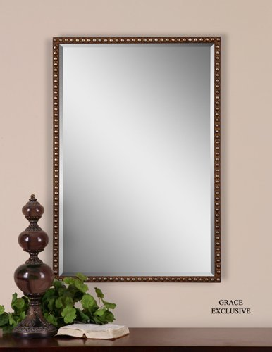 distressed mirror