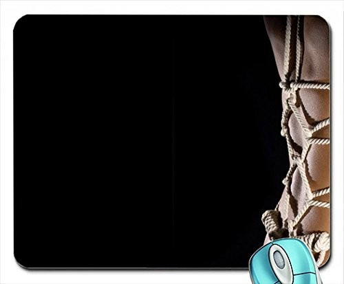 Price comparison product image Bondage Ropes Shibari Mouse Pad(10.2 x 8.3 x 0.12 inches)