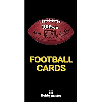 Hobbymaster Football Card Collector Album Binder - Football Design (Black): Sports & Outdoors