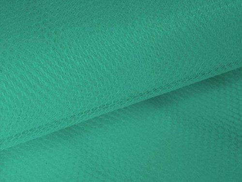 """Turquoise Blue Nylon Net -- 72"""" x 50 Yard Bolt"""