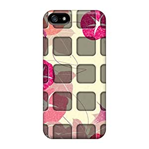 Excellent Design Aura Flower Phone Case For Iphone 5/5s Premium Tpu Case