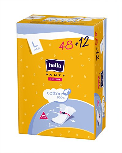 Bella Intima Ultra Thin Panty Liners – 60 Pieces (Large)