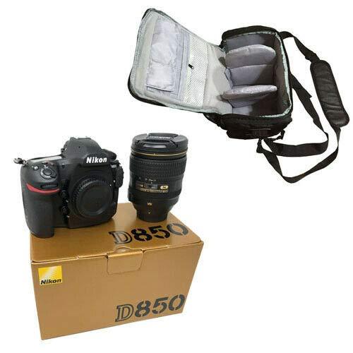 KamKorda Camera Shoulder Bag + D850 DSLR Camera + AF-S NIKKOR 24-120mm f/4G ED VR Lens + 2 Year Warranty