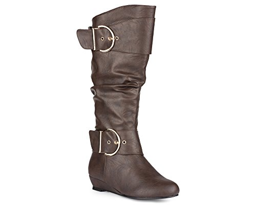 plus size boots extra wide calf - 2