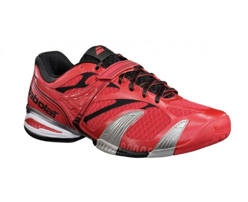 Babolat - Women`s Propulse 4 All Court Tennis Shoes Pink - (31S1374-156S13)