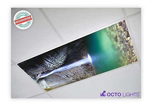 Waterfall Two Light (Waterfall 011 2x4 Flexible Fluorescent Light Cover)
