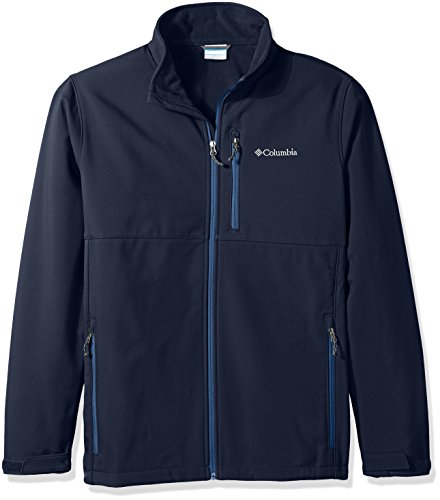Columbia Men's Big & Tall Ascender Softshell Jacket, Collegiate Navy/Night Tide, 4X by Columbia