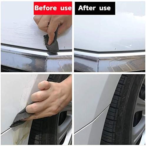قطعة قماش لإزالة الخدوش في السيارات متعددة الأغراض إصلاح الخدوش في السيارة مزيل مسامير السيارة تكنولوجيا نانو خدوش سطح السيارة تلميع وإزالة تلوث قوي لتجميل السيارة Amazon Ae