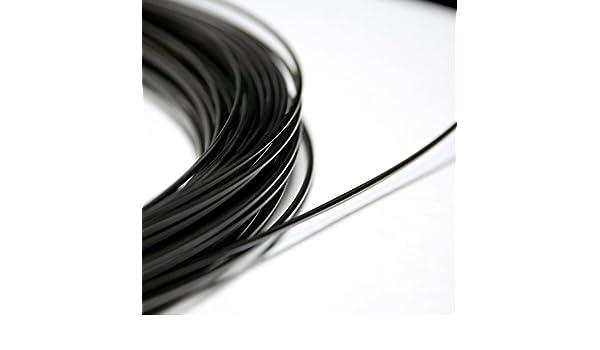 "by the foot 70 ºC Af Nitinol shape memory alloy wire 0.5mm 158 ºF 0.02/"""