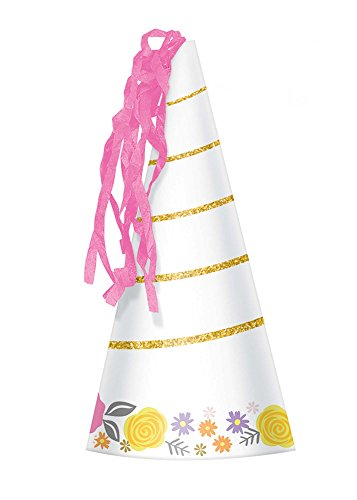 Amscan 251929 Magical Unicorn Party Hat, 6 3/4