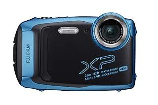 Fujifilm FinePix XP140 Waterproof Digital Camera w/16GB SD Card - Sky Blue (B07NJSQW5F)   Amazon price tracker / tracking, Amazon price history charts, Amazon price watches, Amazon price drop alerts