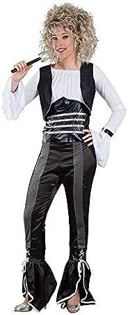 DISBACANAL Disfraz Cantante de los 80 - -, M: Amazon.es: Juguetes ...
