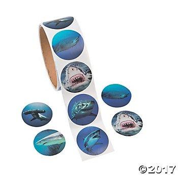 Photo Realistic Shark Stickers