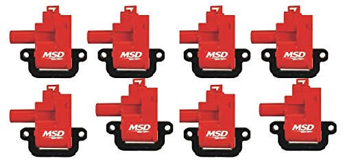 Coil Packs Ls1 (MSD 82628 Ignition Coil for LS1/LS6 Engine, (Pack of 8))