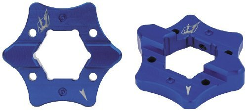 Driven Racing 04-05 Suzuki GSXR600 Pre-Load Adjusters (Blue)