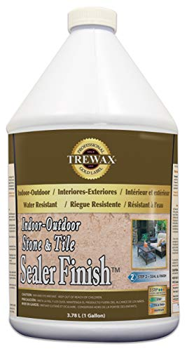Trewax Gold Label Stone and Tile Floor Sealer, 1 Gallon, 1 Gallon