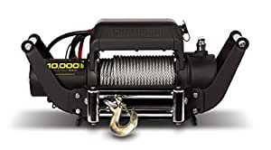 Champion Power Equipment 11006 10000 lb. Truck/SUV Winch Kit with Speed Mount Hitch Adapter (12V DC)