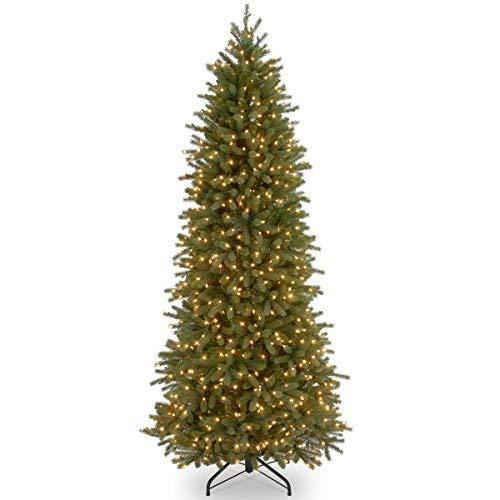 - National Tree 9 Foot Jersey Fraser Fir Pencil Slim Tree